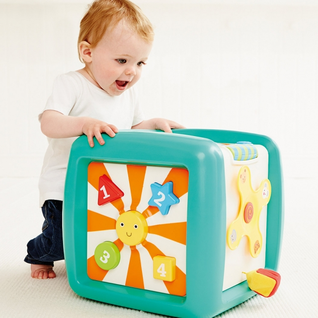 ELC Giant Light and Sounds Activity Cube 1