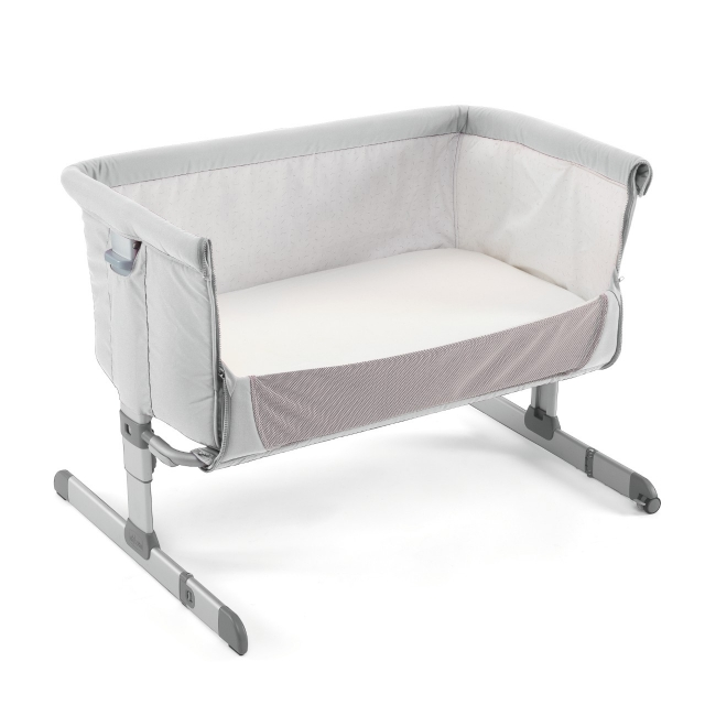 Chicco Next2me Side Sleeping Crib - Silver