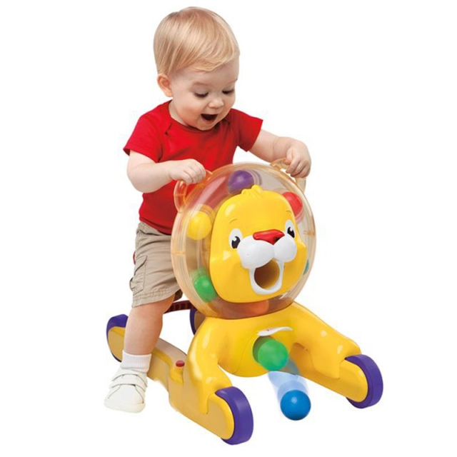 Bright Starts 3IN 1 Step and Ride Lion