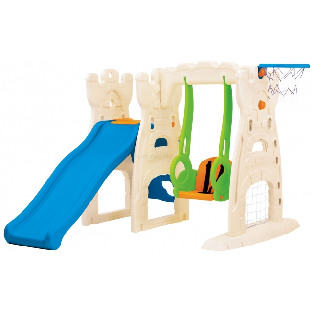 Grow N Up Scramble N Slide Play center