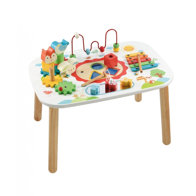 ELC wooden activity table square