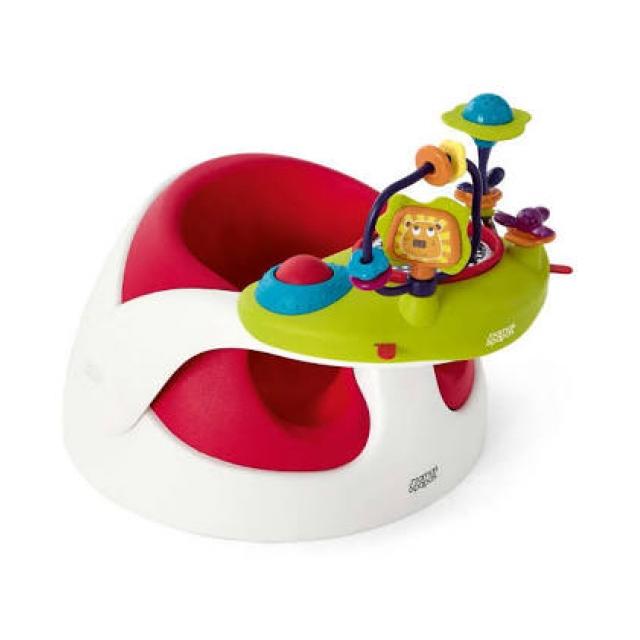 Mamas Papas Baby Snug with Play Tray - Red
