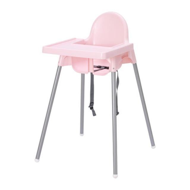 IKEA Antilop high chair - Pink 1