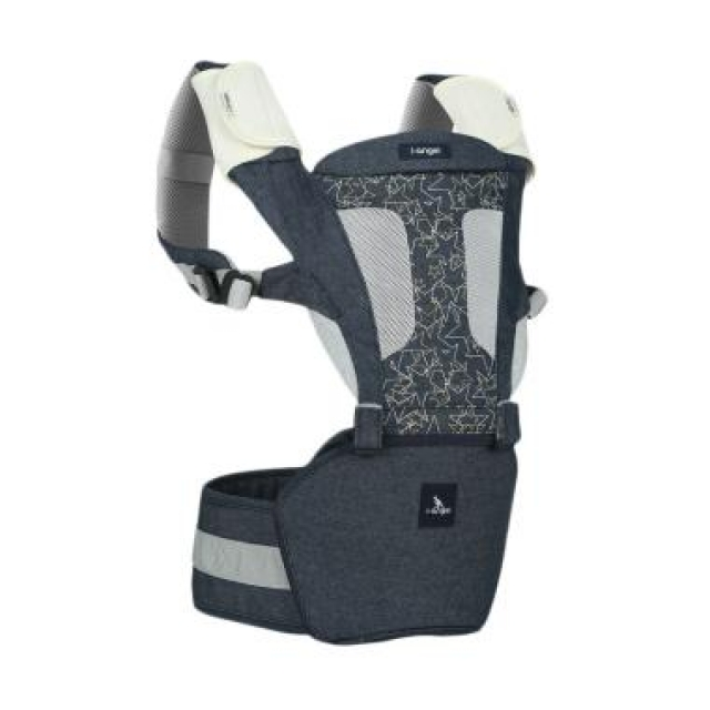 I Angel Magic Hip Seat Carrier - Denim star