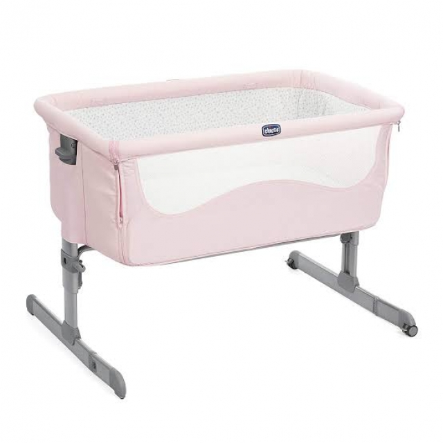 Chicco Next2me Side Sleeping Crib - Candy Pink