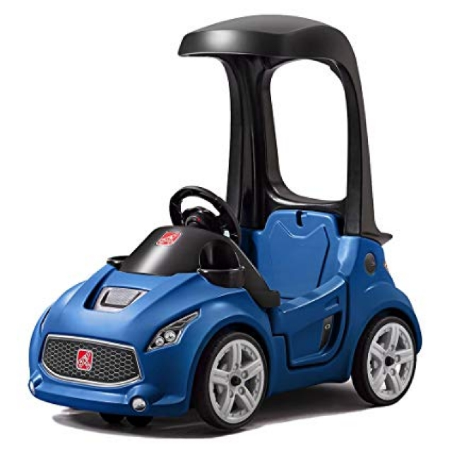 Step2 Turbo Coupe Foot-to-Floor Ride-on Car – Blue