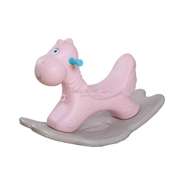 Little Giggles Rocking Horse - Pink