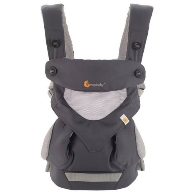 Ergobaby Four Position 360 Cool Air - Carbon  Grey