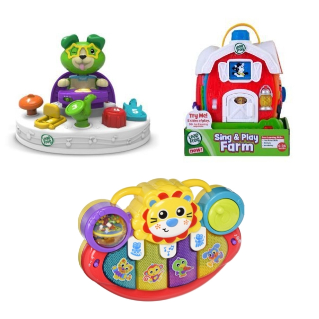 Leapfrog n PlayGro baby toys package